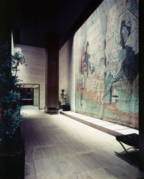 picasso curtain four seasons an interview with phyllis lambert about mies and more uncube