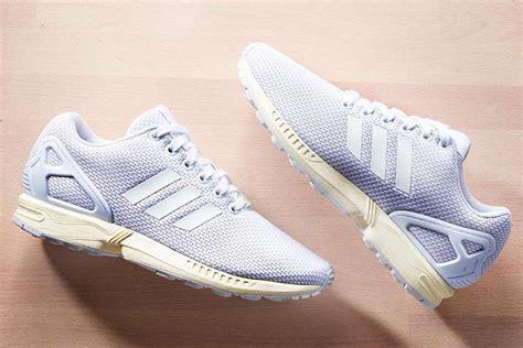 Sepatu Adidas Zx Flux Original adidas original zx flux all white the daily cloth