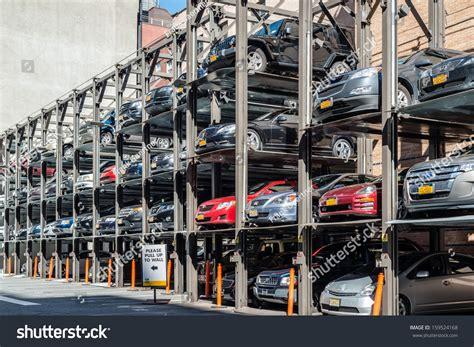 Parking Garages In Nyc by New York Usa September 28 2013 Stock Photo 159524168