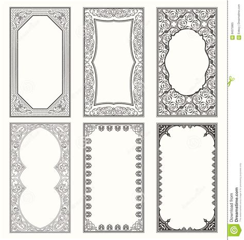 Minimal Wedding Anniversary Cards Templates Vector by Vintage Set Retro Cards Template Greeting Card Wedding