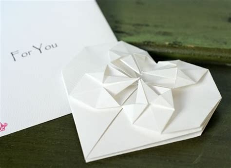 origami heart love notes step  step