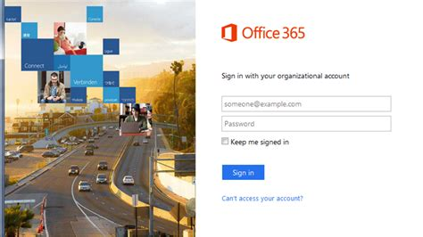 Office 365 Sign On by College Of Business Lifetime Email Identification Page
