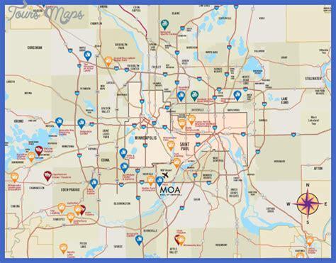 map of minneapolis area minneapolis metro map toursmaps