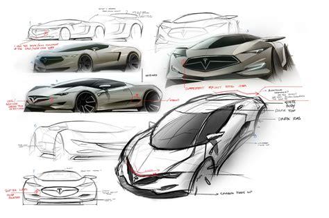 tesla model r 2016 tesla model r hypercar concept design sketches carwow