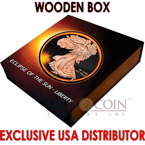 The Ths01 Black Rosegold Box Exclusive usa eclipse of the sun american silver eagle walking