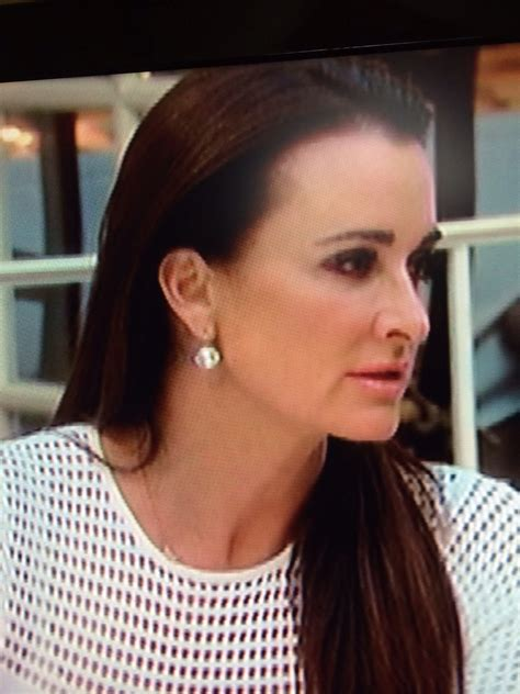 kyle richards spike bracelets kyle s crystal earrings housewives jewelry