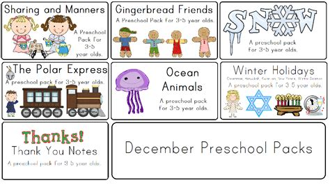 kindergarten themes december little adventures preschool preschoola
