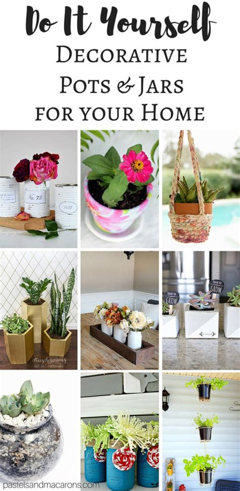 finally it s time decorate your home for christmas diy plant pots and decorative jars the creative corner