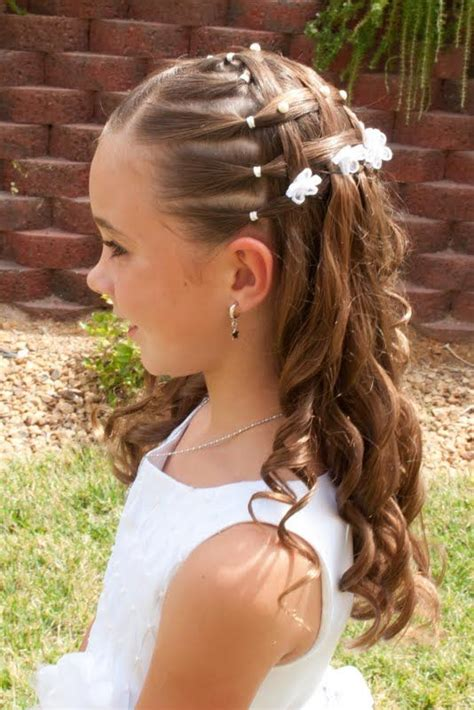 first communion hair dos trying this hair do for my niece s first communion