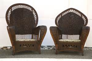 vintage wicker furniture antique wicker chairs and sofa at 1stdibs