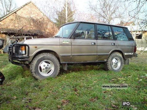 motor auto repair manual 1986 land rover range rover security system service manual how make cars 1986 land rover range rover transmission control buy used
