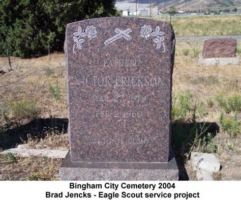 Finland Birth Records Utgenweb Salt Lake County Bingham City Cemetery