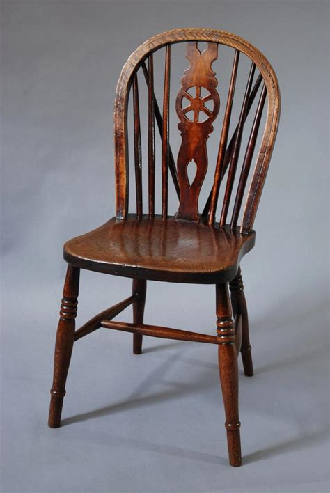 Chairs For Sale Uk by Set Of Four 19thc Wheelback Chairs In Sold Archive