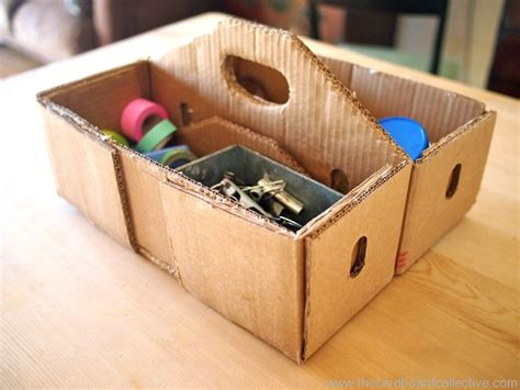 How To Make A Tool Box Out Of Paper - make a cardboard toolbox the cardboard collective
