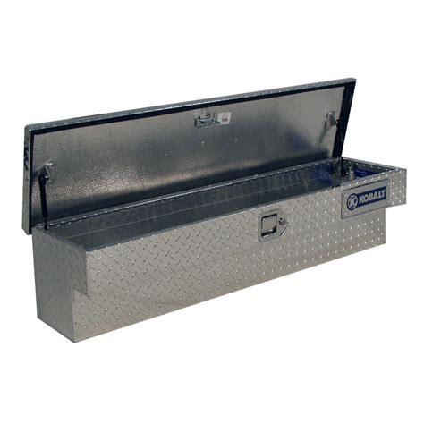 truck tool box chest kobalt portable aluminum universal pickup truck tool box