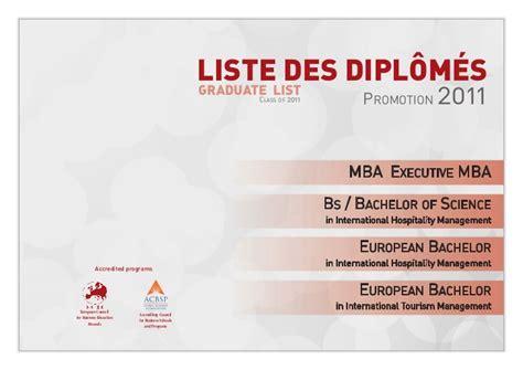 Pfeiffer Mba Accreditation by Dossier De Presse C 233 R 233 Monie De Graduation 2011