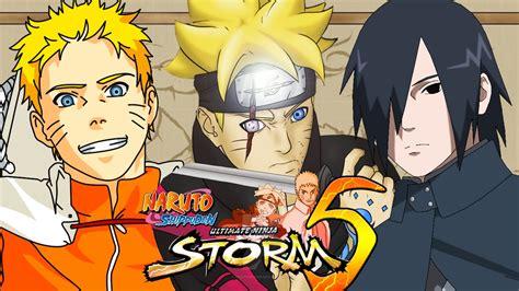 naruto mugen storm   boruto  generation shippuden ultimate ninja pc game youtube
