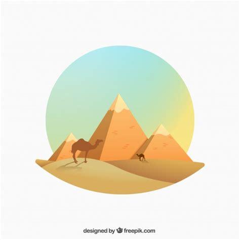 descargar imagenes egipcias gratis ilustraci 243 n de pir 225 mides egipcias en estilo degradado