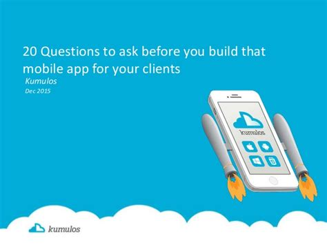 Or Question App 20 Questions You Need Answered Before You Start That