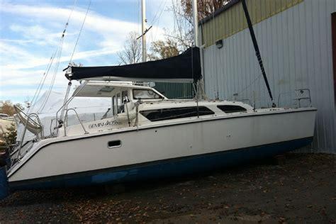 plastic catamaran hull hull 1115 catamaran for sale gemini 105mc in annapolis