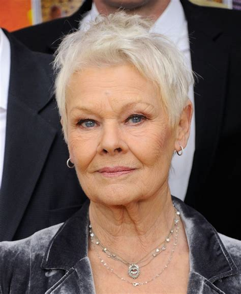 judi dench haircut how to 25 best ideas about judi dench hairstyle on pinterest