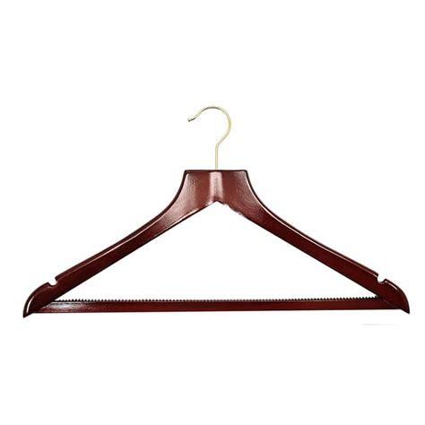 h9 luxury dark wood gold hook hanger 50 163 1 35 each