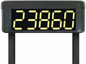 lighted house number sign solar safety technology international sti 30325 solar powered
