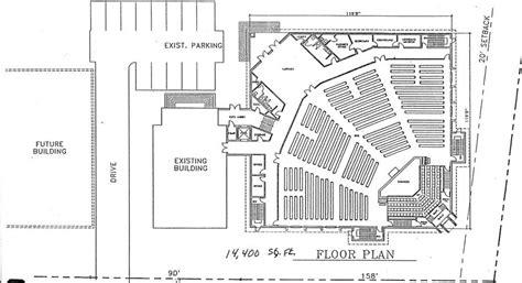 steel church buildings floor plans