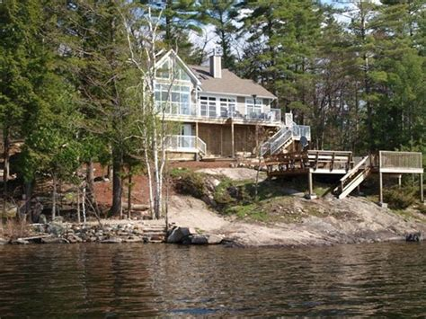 cottage for rent muskoka lake muskoka island executive luxury sun sunset exposure