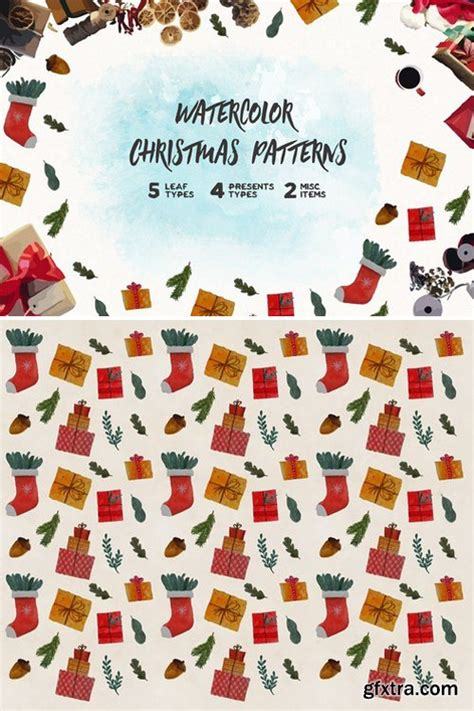 christmas pattern game cm watercolor christmas pattern 2166849 187 download free