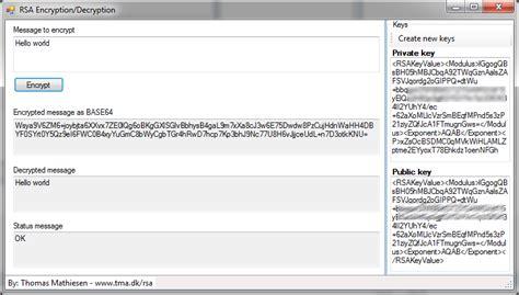 rsa section rsa encryption exle