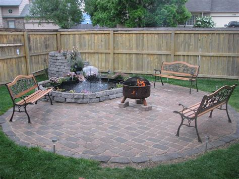 How To Create Fire Pit On Yard Simple Backyard Fire Pit Backyard Firepit