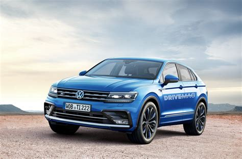 volkswagen coupe volkswagen tiguan coup 233 rendering looks plausible we