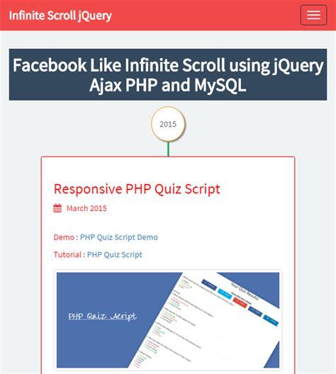 tutorial jquery ajax php 10 facebook style jquery plugins jqueryhouse
