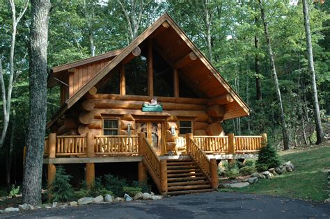 Cabin At by History Of Log Cabins In The United States Smoky