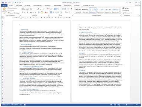 Word Vorlage Seminararbeit Word Inhaltsverzeichnis Automatisch Erstellen Kurzanleitung