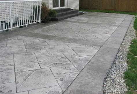 Concrete Patio Installation Cost by 1000 Ideas About Sted Concrete Patio Cost On