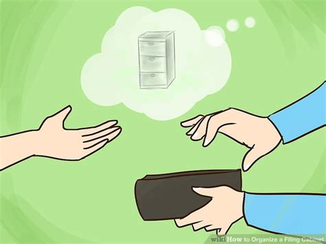 how to organize a file cabinet system how to organize a filing cabinet with pictures wikihow