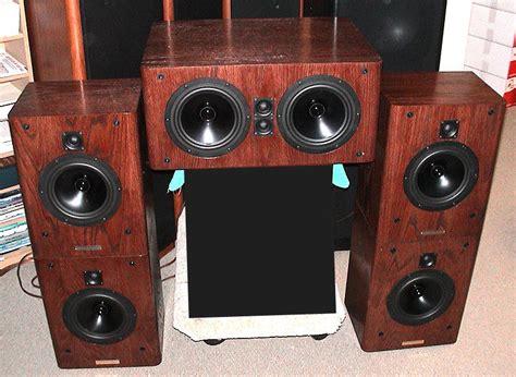 high  home theater center channel speaker loudspeaker