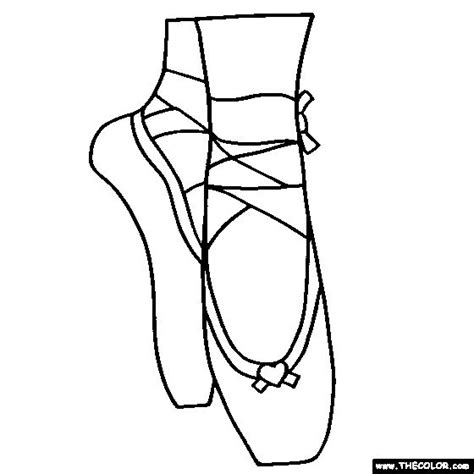 Coloring Pages Ballerina Shoes | best 25 ballerina slippers ideas on pinterest dance