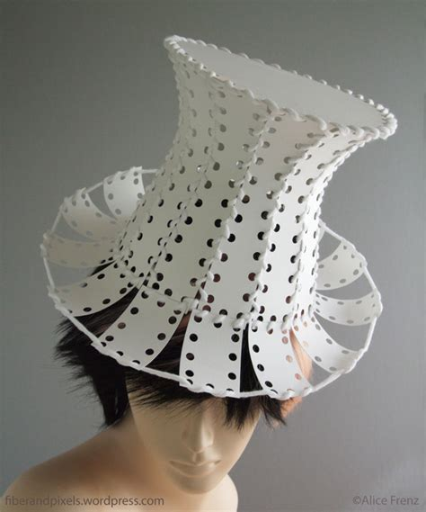 Make A Hat From Paper - hat fiber and pixels