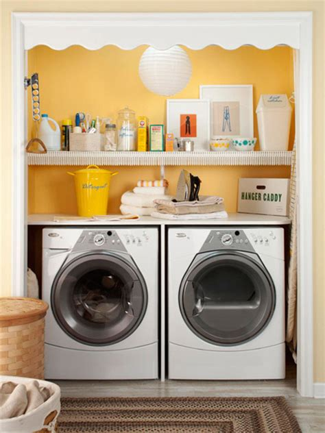 10 Ideas For When Your Laundry Room Is A Closet Closet Laundry