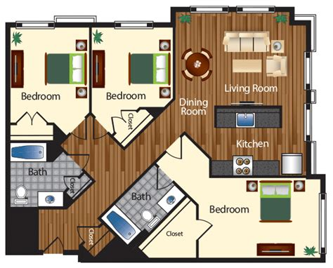 three bedroom apartments in dc northwest dc apartments your home 32thirty two apartments