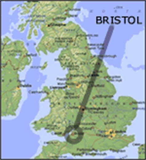 bristol on the map maps of bristol