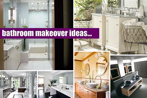 Easy Bathroom Makeover Ideas by 20 Bathroom Makeover Ideas