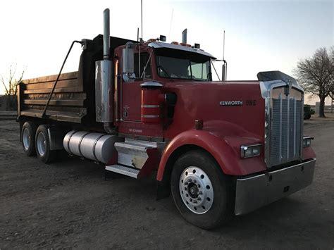 kenworth truck w900l kenworth w900l dump trucks for sale used trucks on