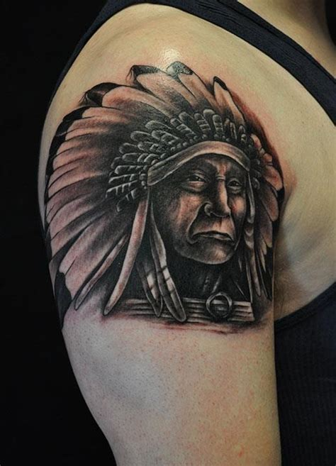black and grey indian tattoos depiction tattoo gallery tattoos black and gray