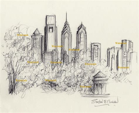 philly skyline tattoo city of philadelphia tattoos sketch pictures to pin on