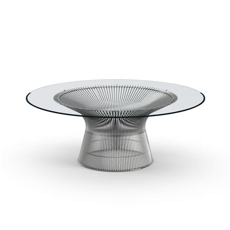 platner coffee table knoll modern furniture design post modern