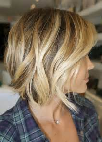 angled bob for curly hair wavy angled bob hairstyles